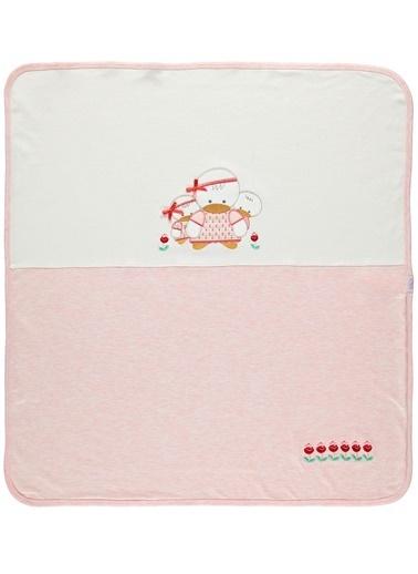 Civil Baby Kız Bebek Çift Kat Battaniye  Pembe